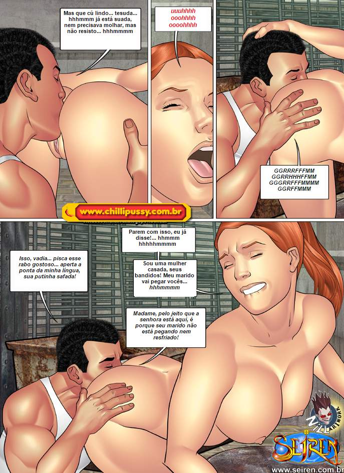 A esportista 2 - quadrinhos eroticos