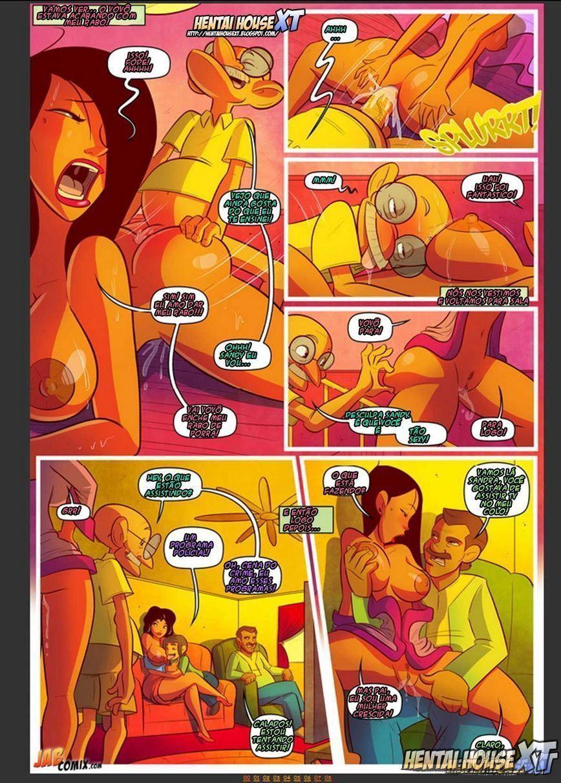 mantendo se com os joneses 3 - quadrinhos eroticos