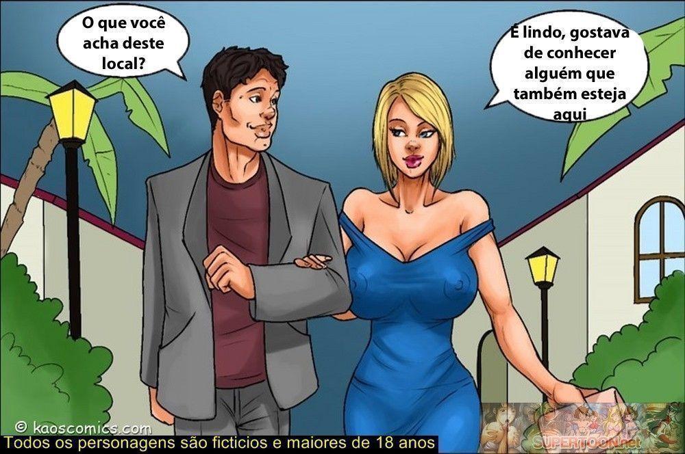the massage - quadrinhos eroticos - 0141