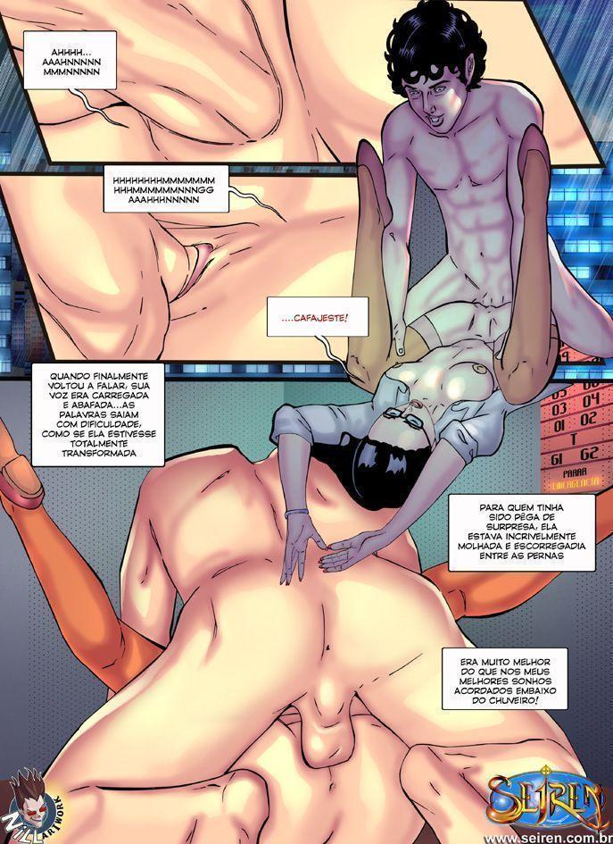 indiferença - quadrinhos eroticos e porno