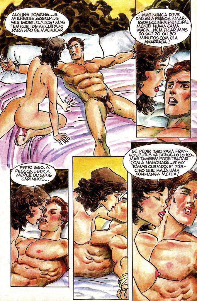 A casa dos prazeres - quadrinhos eroticos