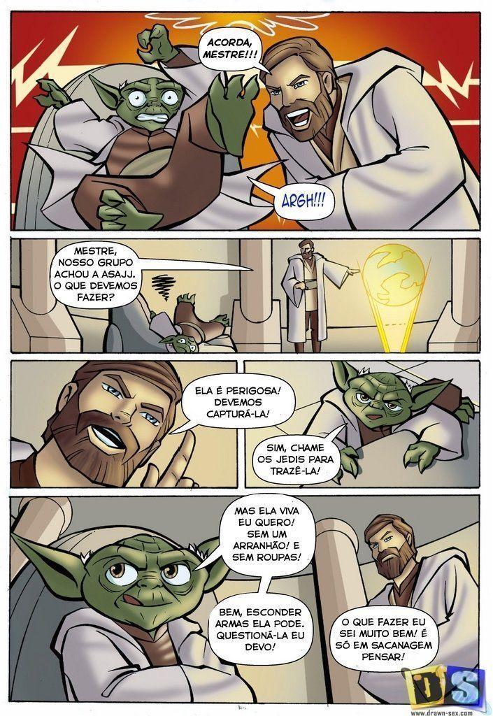 Yoda star wars porn hentai comics