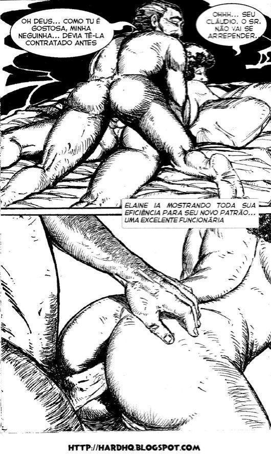 empregada da fazenda - hqs e quadrinhos eroticos e porno