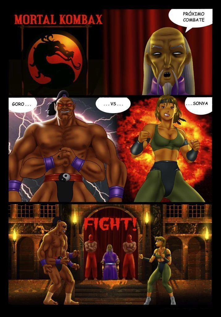 Was and Hentai mortal kombat know, how
