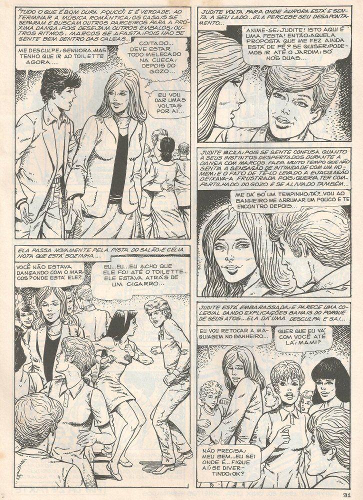 Arroto revistas e quadrinhos eróticos