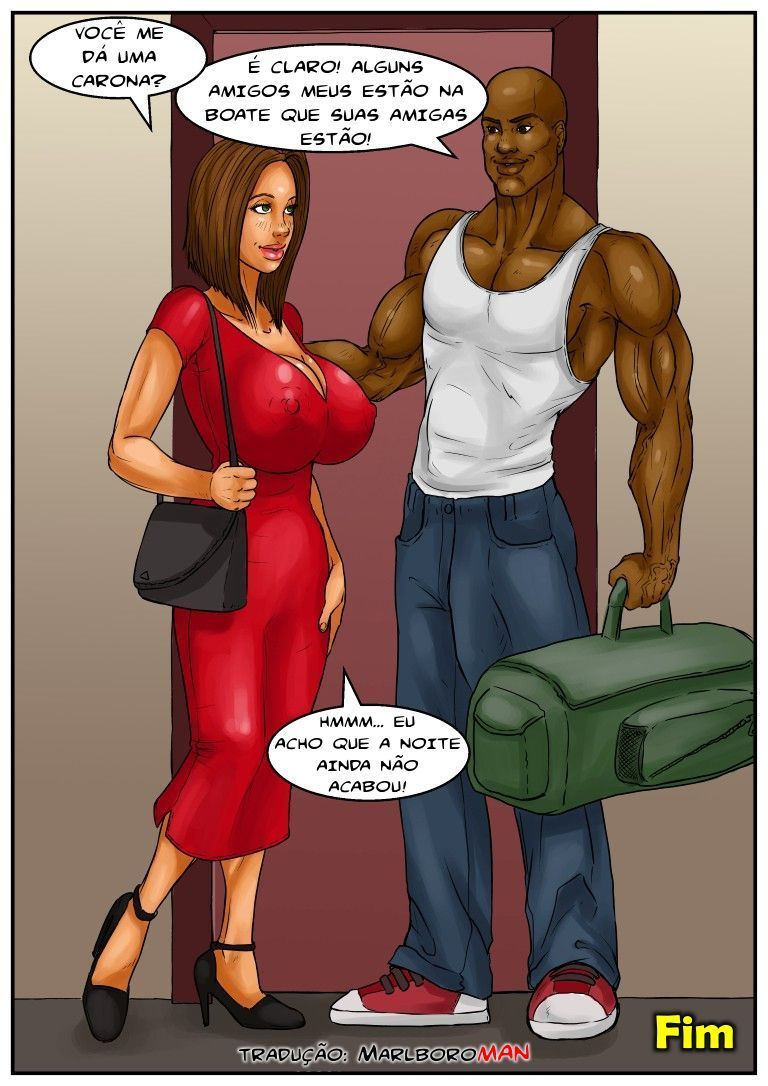 despedida de solteira - hqs porno interracial