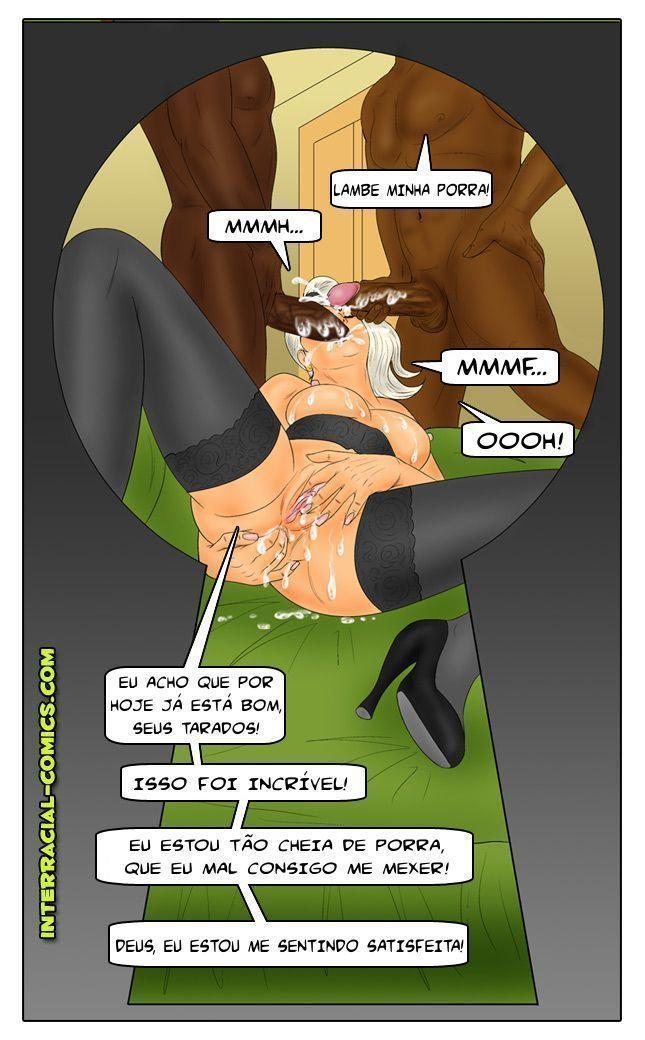 3 dias em chicago - quadrinhos eroticos