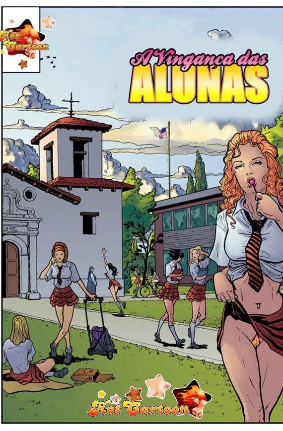 Vingança das alunas 1 - quadrinhos eróticos