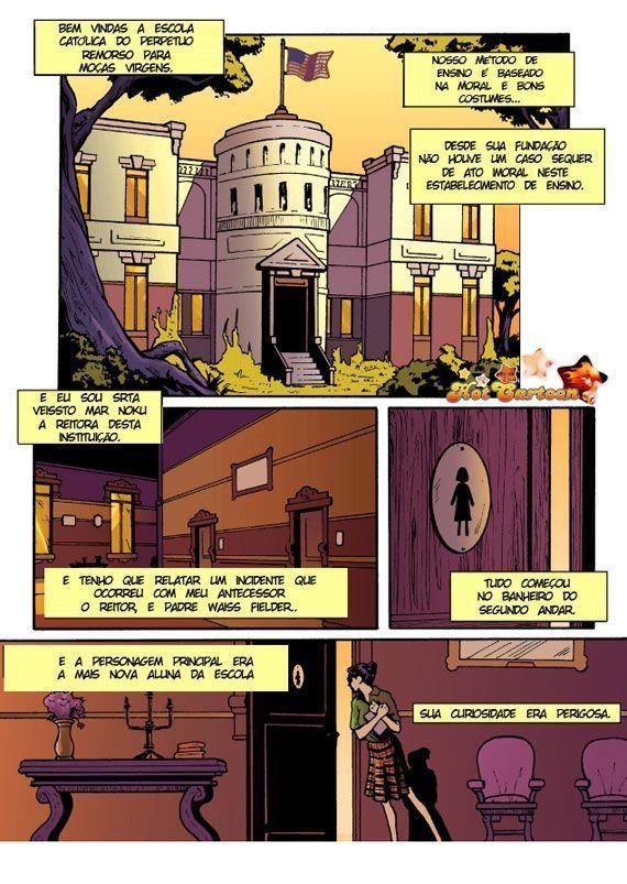 Vingança das alunas 2 - quadrinhos eróticos