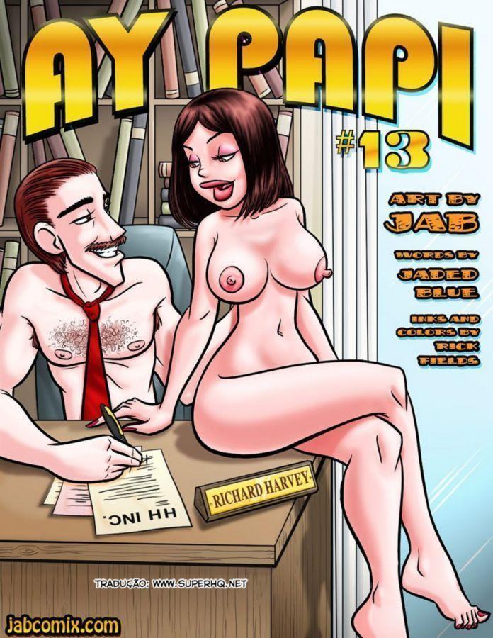Ay papi 13 - sexo com a secretaria