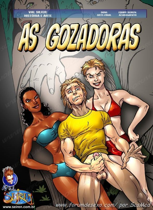 As gozadoras - quadrinhos eroticos da brasil hentai